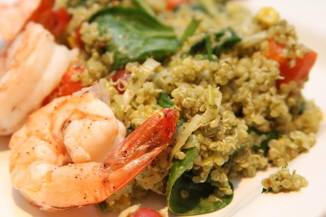 Quinoa & Prawn Paella