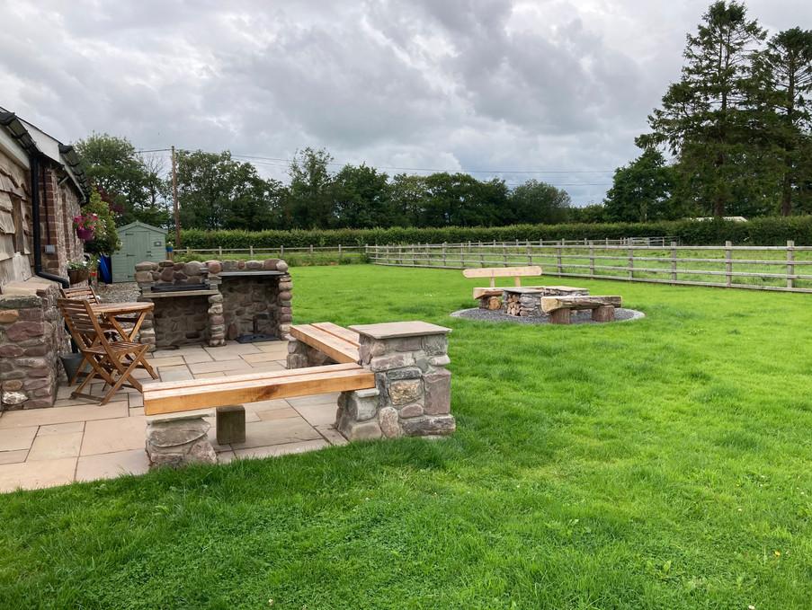 Derwen Coach House Private garden