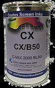 La serie CX destaca a la hora de imprimir las placas de plástico,  poliestireno (PS), PVC rígido o policarbonato (PC) a velocidad rápida evitando el problema apilable