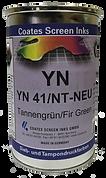 Las tintas para serigrafía YN son adecuadas, en primera línea, para la impresión de empaques, es decir, para la impresión de cuerpos huecos de diferentes formas
