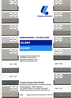 carta colores tampografia