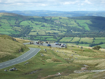 View from Black Mountain Car Park