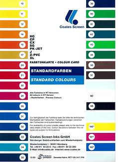 carta colores serigrafia
