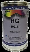 La tinta de la serie HG es la primera opción para imprimir en base solvente de un solo componente