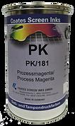 tintas para serigrafía, estas resinas fueron desarrolladas para la impresión de termoplásticos, de PVC y acrílicos (PMMA)