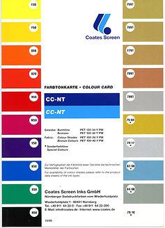 carta colores tarjetas credito