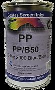 Las tintas para serigrafía PP son adecuadas para la impresión de polipropileno no tratado.
