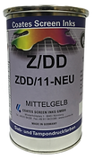 Las tintas Z/DD cuentan, una vez secas, con una acabado de alto brillo, buenas cualidades de resistencia a la intemperie y la resistencia más alta posible a los solventes.