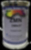 El sistema de tintas ZMN para serigrafía se compone de una base de resina acrílica, resistente a la intemperie.