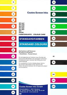 HD carta de colores