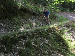 Cwm Rhaeadr, Red route