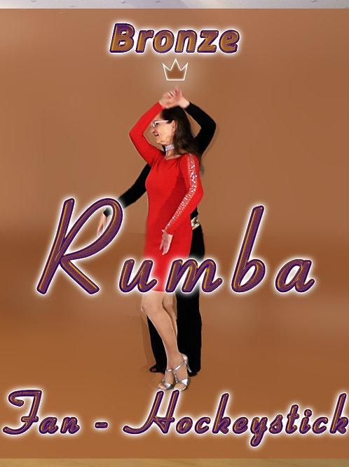 Rumba - Fan, Hockeystick - Stufe 3 (Bronze)