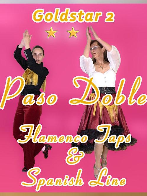 Paso Doble - Span. Line & Flamenco Taps - Stufe 7 (Goldstar 2)