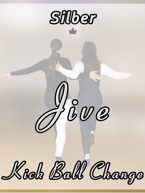 Jive - Kick Ball Change - Stufe 4 (Silber)