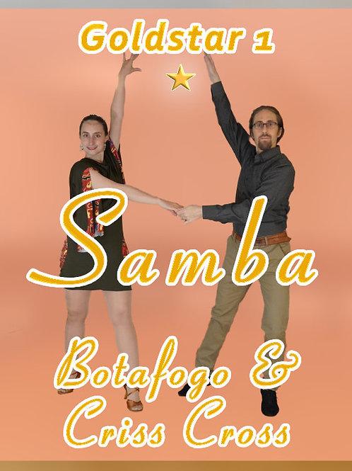 Samba - Botafogo & Criss Cross -  (Goldstar 1)
