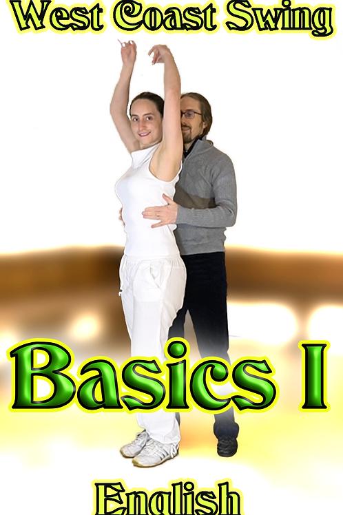 West Coast Swing - Basics 1 - English