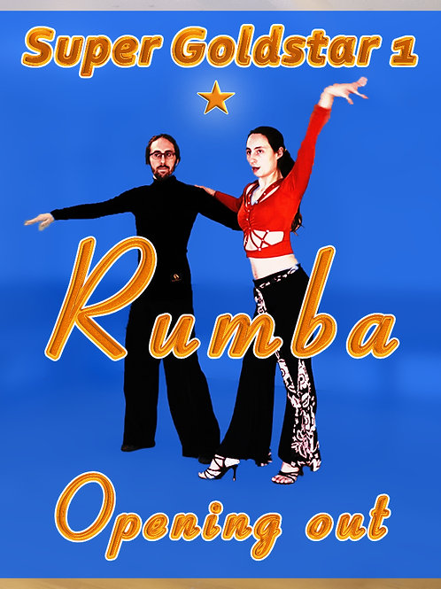 Rumba - Opening out - Stufe 9 (Super Goldstar 2)