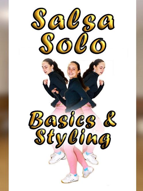 Salsa Solo - Grundlagen & Styling 1 - BIG PACK