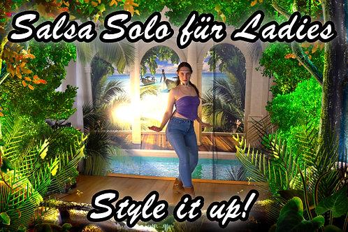 Salsa Solo für Ladies