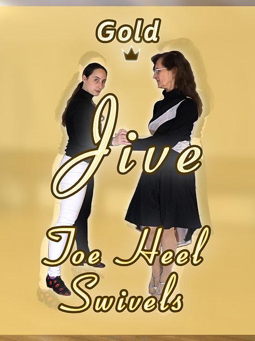 Jive - Toe Heel Swivels - Stufe 5 (Gold)