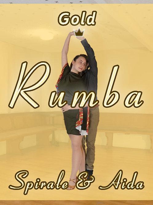 Rumba - Spirale & Aida - Stufe 5 (Gold)