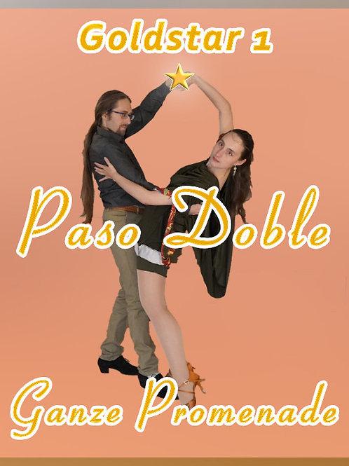 Paso Doble - ganze Promenade - Stufe 6 (Goldstar 1)
