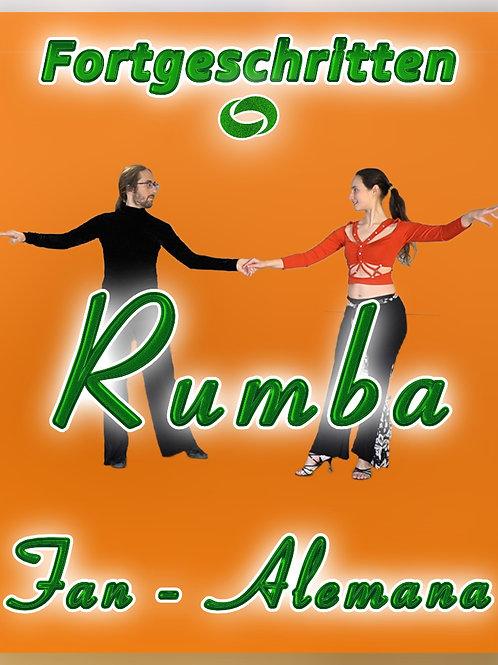 Rumba - Fan, Alemana - Stufe 2 (Fortschrittskurs)