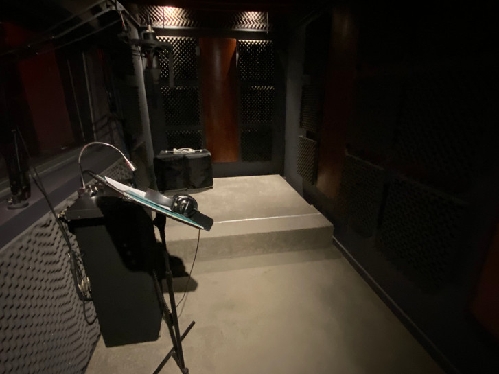 Recording booth one