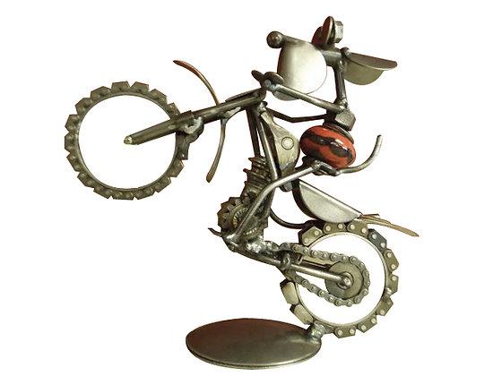 Item#- END005  CK Dog on Dirtbike