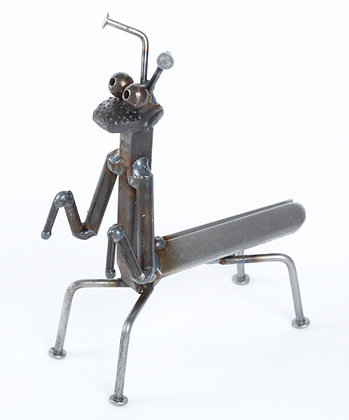 Item# ENC033 Mining Spike Preying Mantis