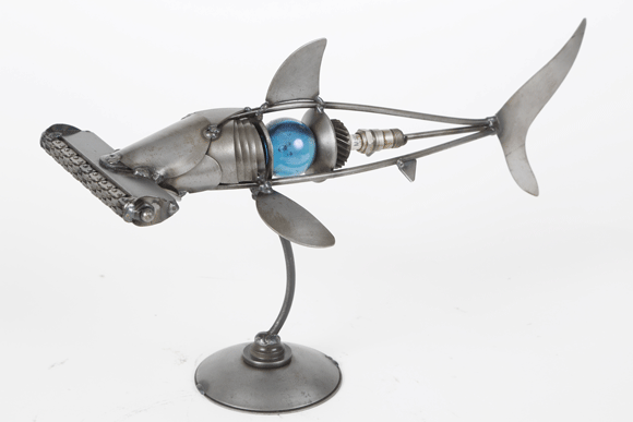 Item #: ENC006 Hammerhead Shark Table Top