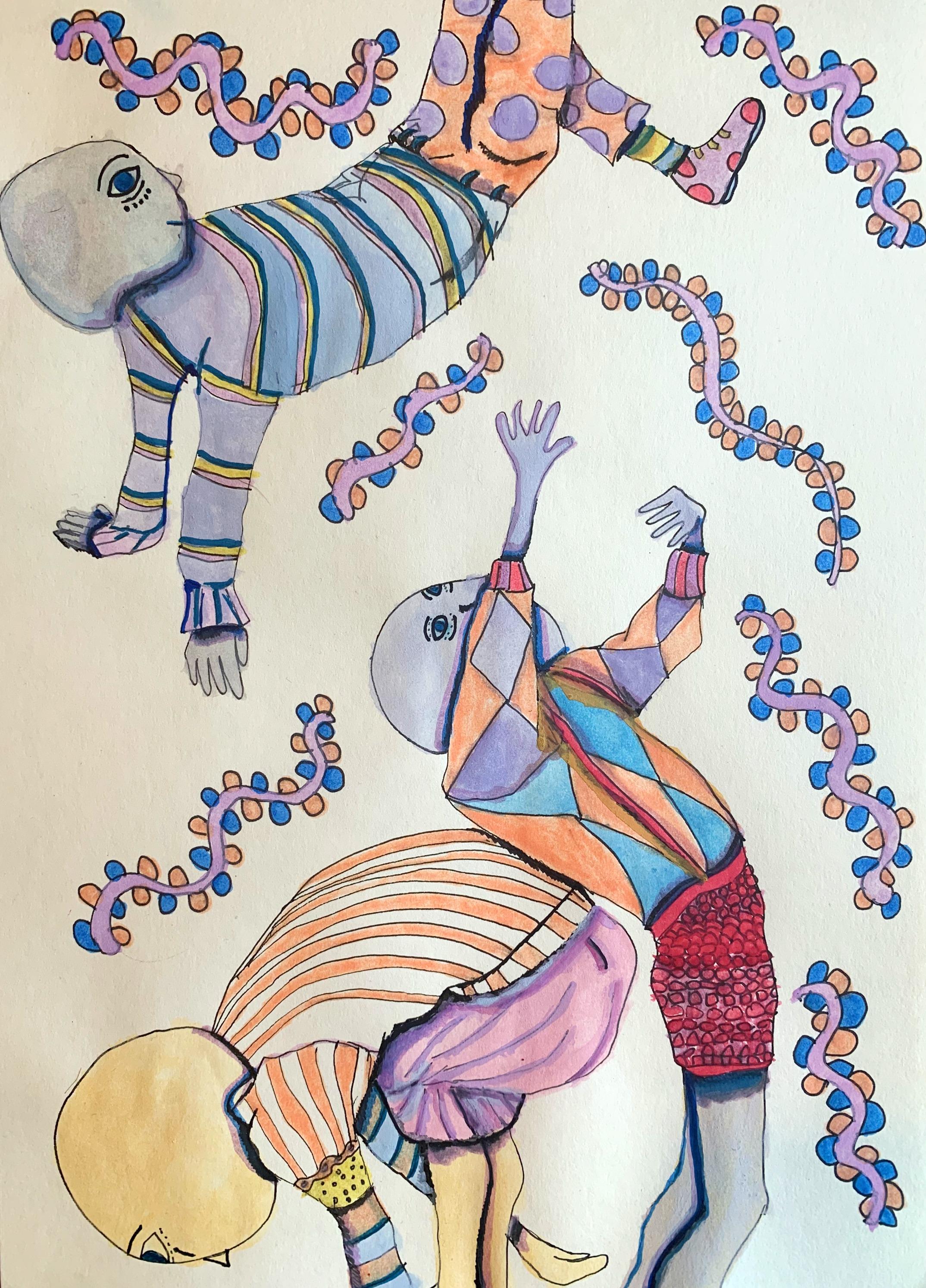 Dancing Moon Men