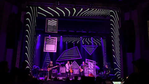 Andrew Bird Stage and Lighting Design