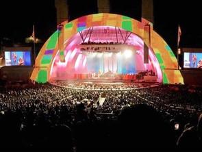 TV on the Radio Hollywood Bowl