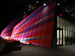 Whitney Museum Opening Party Projections