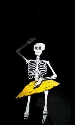 Skeleton Stage Prop