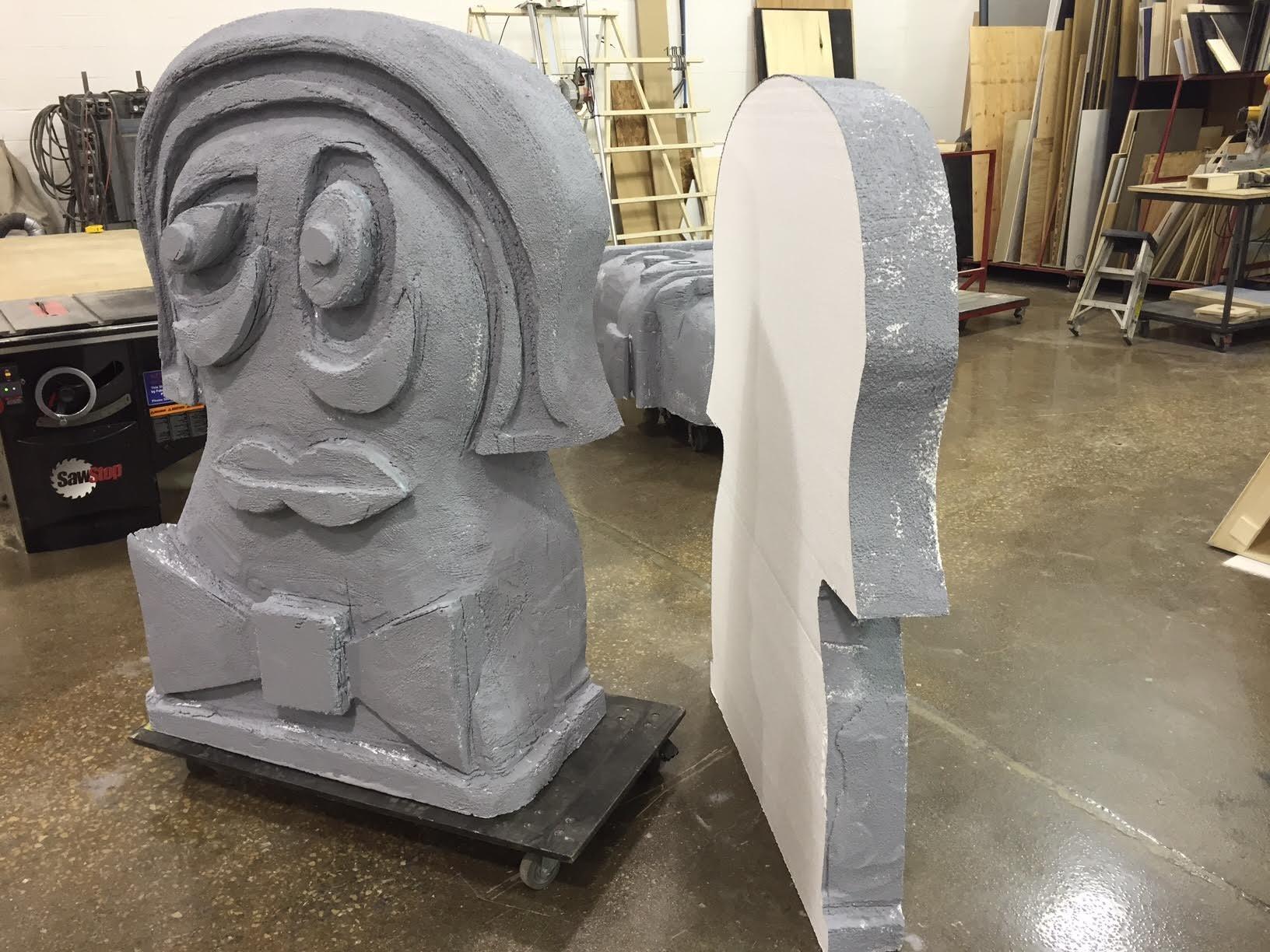 Molds for Fiberglass Heads