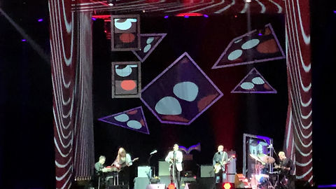 Video/ Stage Lighting Design Andrew Bird