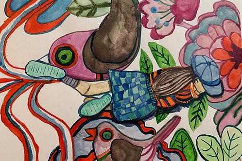 Bird Carpet