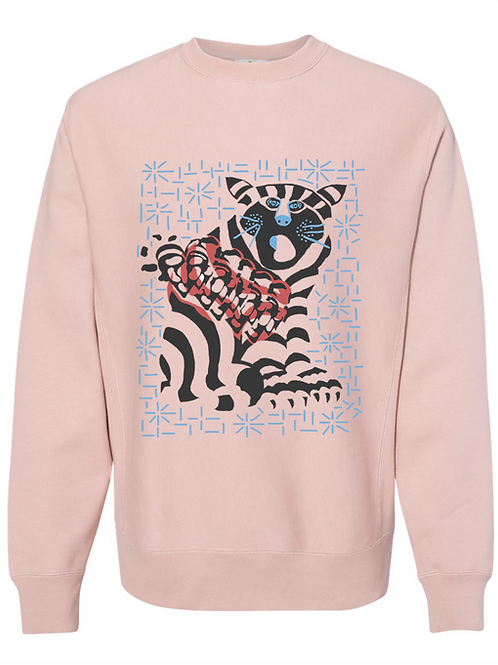 Cat Lovers  Crew Neck