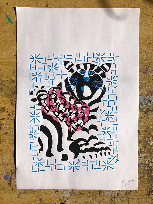 Cat Lovers Print