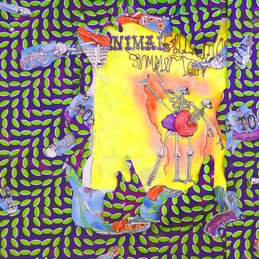 Animal Collective - Ballet Slippers , Collage elements
