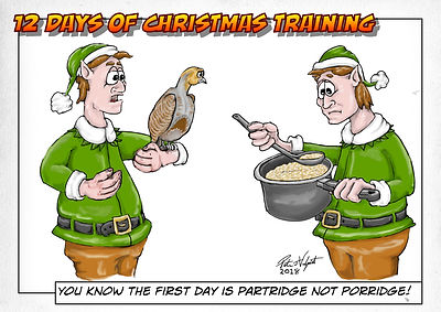 Partridge not porridge