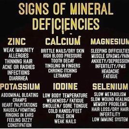 Mineral deficiency