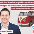 Abschlussanzeige in der Steinbacher Information