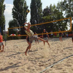 Das bisher erfolgreichste Beachvolleyball-Turnier der Jusos Steinbach