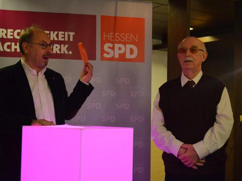 50 Jahre SPD – Danke Heinrich Haldorn