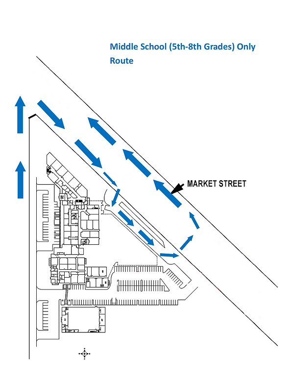 Middle School Dismissal Route.png