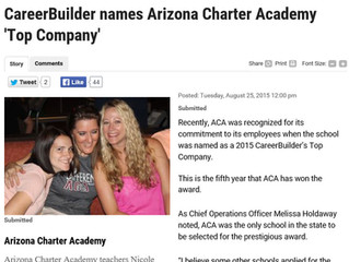 ACA Named 'Top Company' by CareerBuilder