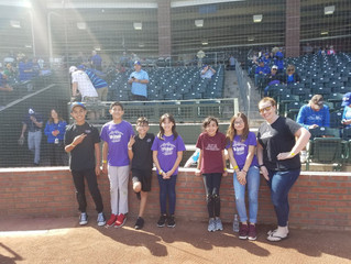 ACA 5th Graders Honored at Spring Training Game